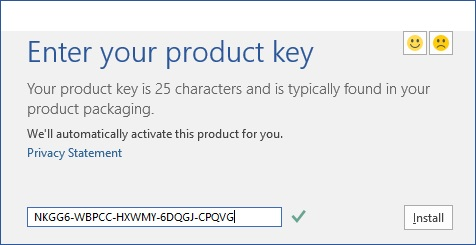 Free Microsoft Office 2016 Product Key