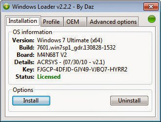 Download Windows Loader v2 2 2 by Dar to Activate Your Windows