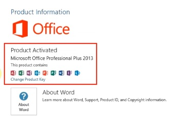 Activate Microsoft Office 2013