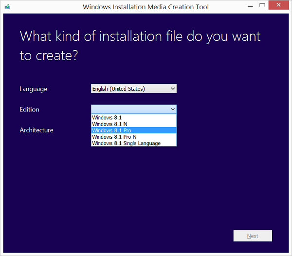 Download Windows 8.1 ISO Files