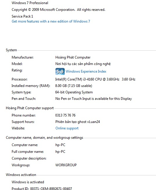microsoft product key not working windows 7
