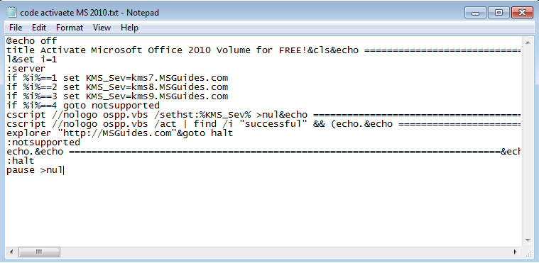 code-to-activate-microsoft-office-2010