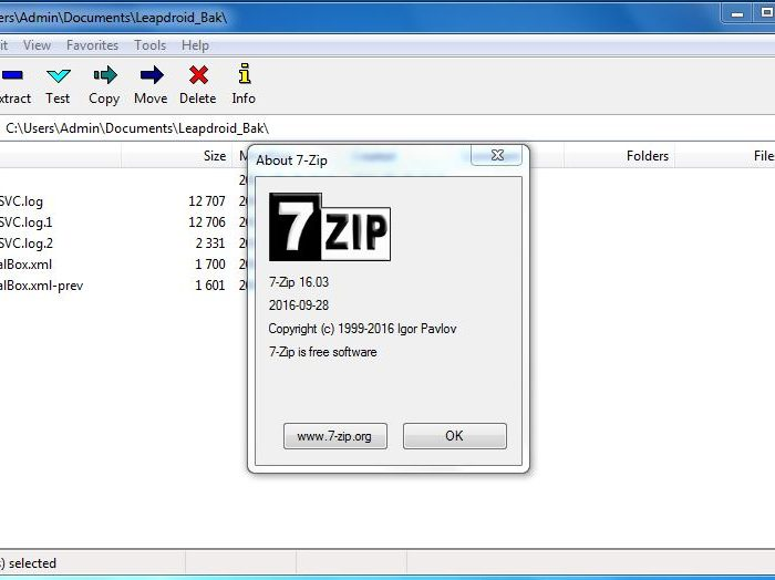 7zip Download 2020