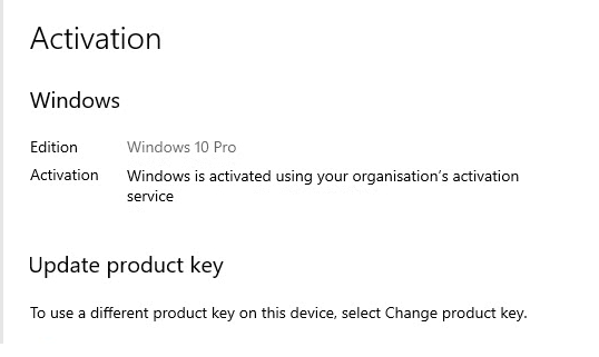 Activate Windows-10 Pro for free