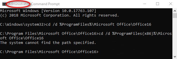 Open-location-of-Microsoft-Office