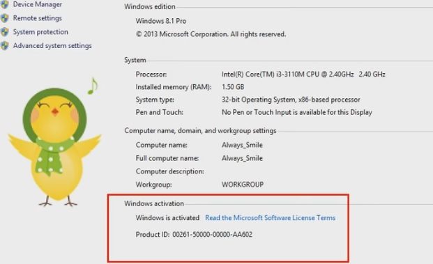 Free Windows 8.1 Product Key