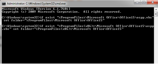 code set local Microsoft Office 2013