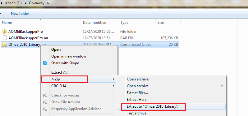 extract Office 2010 license files library