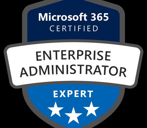 Microsoft 365 Certified Enterprise Administrator Expert