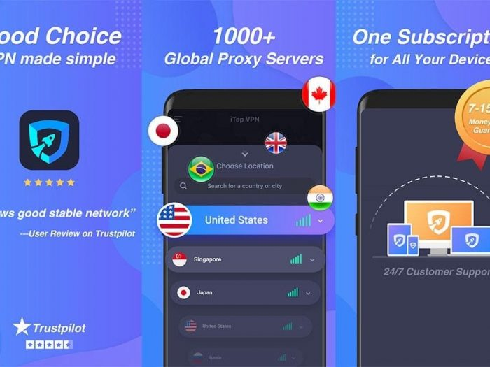 How to use a VPN app to mask locations and bypass blocked platforms