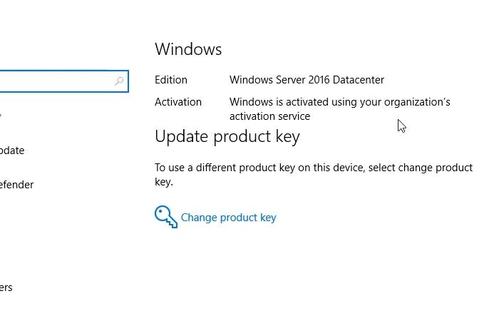Windows Server 2016 product key free