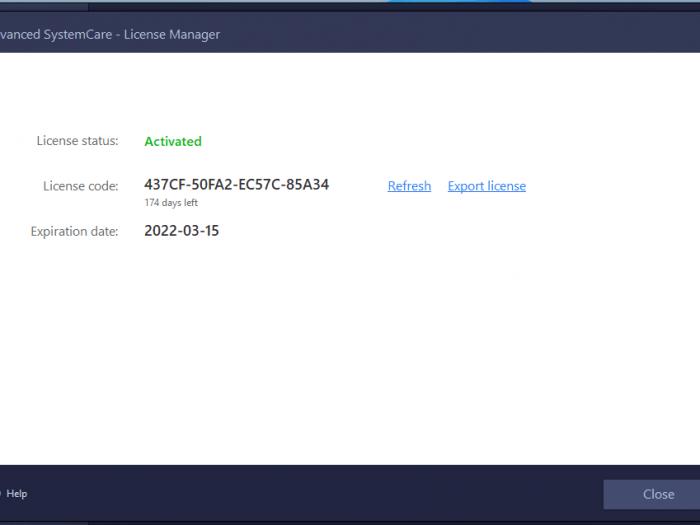Advanced SystemCare Pro 14 Key Free