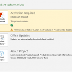 Download Project Professional 2021 from Microsoft (Trial Version)